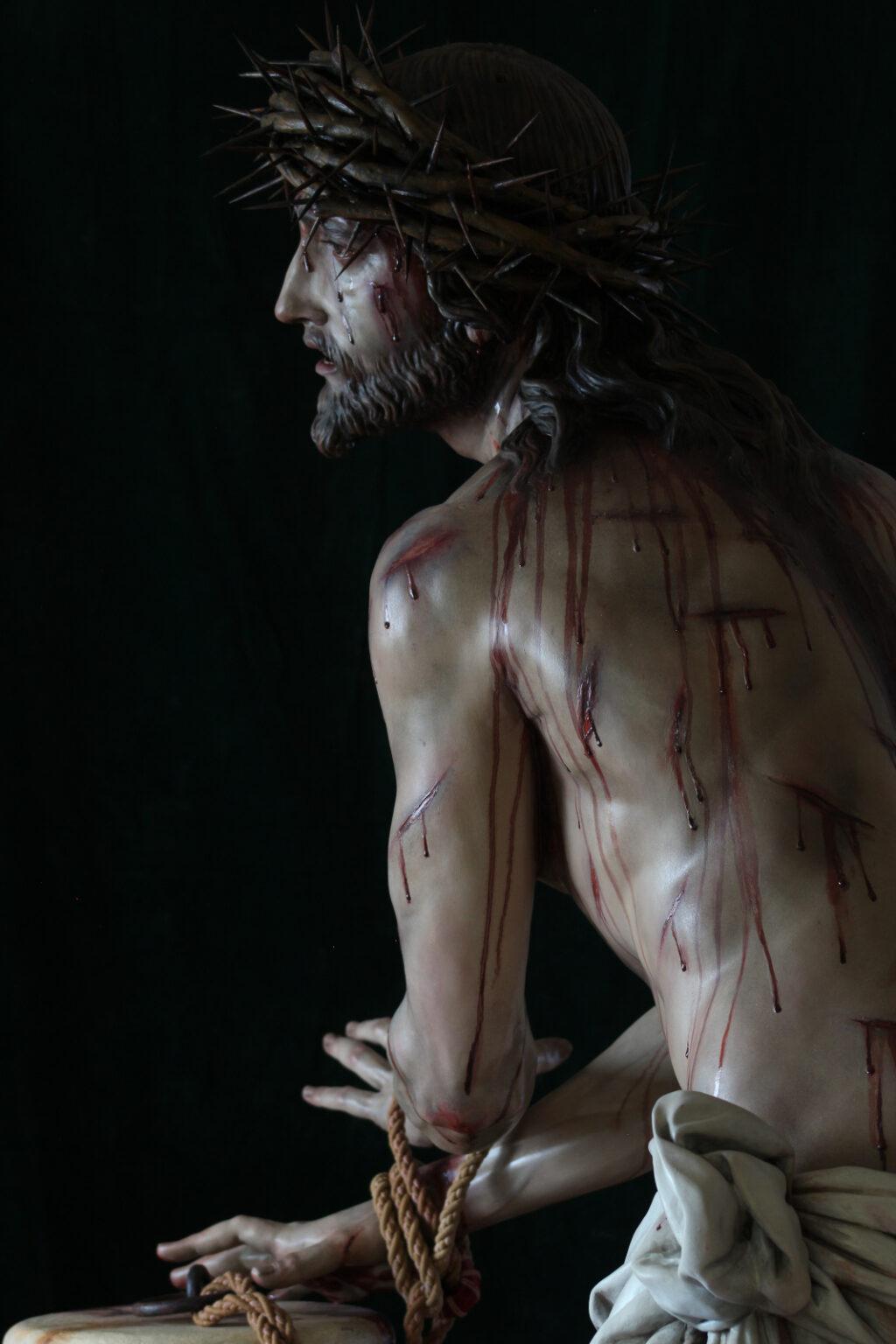 JESÚS DE LA MISERICORDIA AMARRADO A LA COLUMNA-2-BELALCAZAR-CÓRDOBA