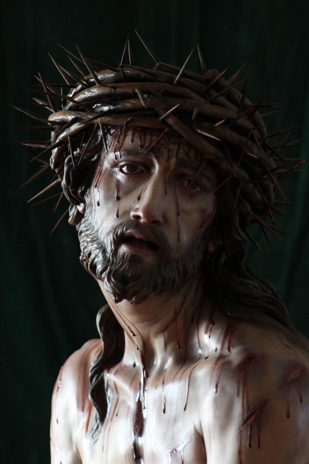JESÚS DE LA MISERICORDIA AMARRADO A LA COLUMNA-3-BELALCAZAR-CÓRDOBA
